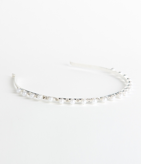 Pearl and Rhinestone Hairband